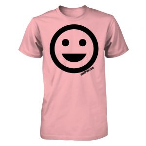 t-shirt happy face site drole