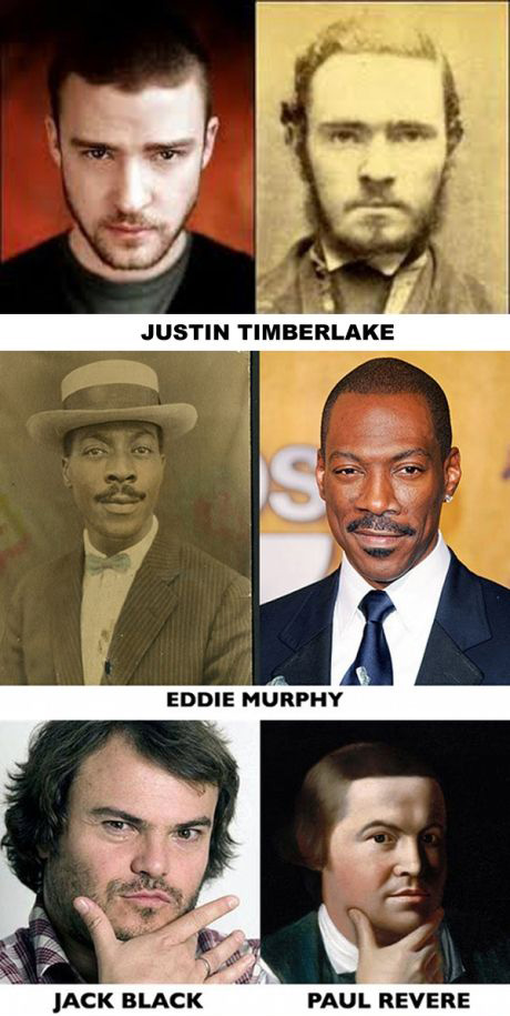 image drole celebrity time travelers