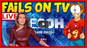 TOP des FAILS en direct à la TV…